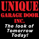 unique garage door advertisement